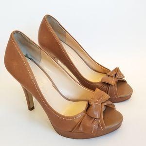 Franco Sarto Victory Peep Toe Heels, Size 8M